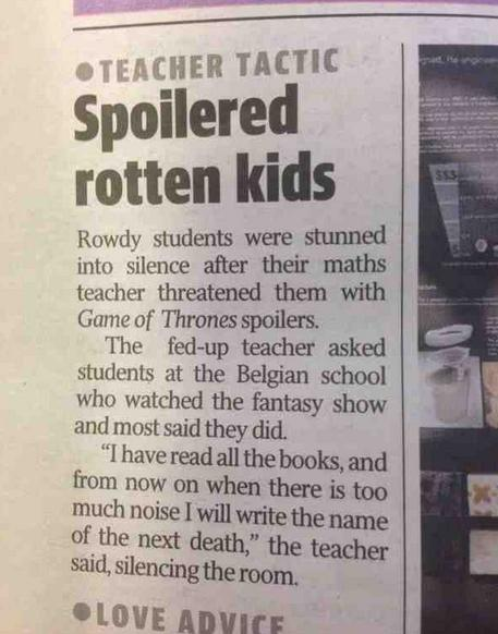 This teacher is a genius